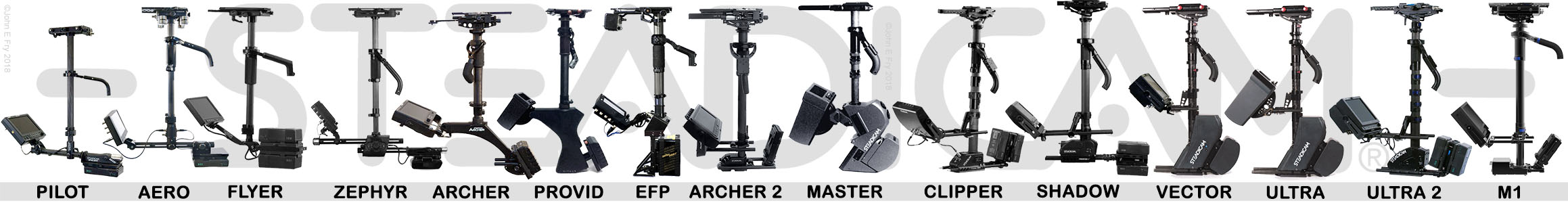 Steadicam Models Tiffen Cinema Products List