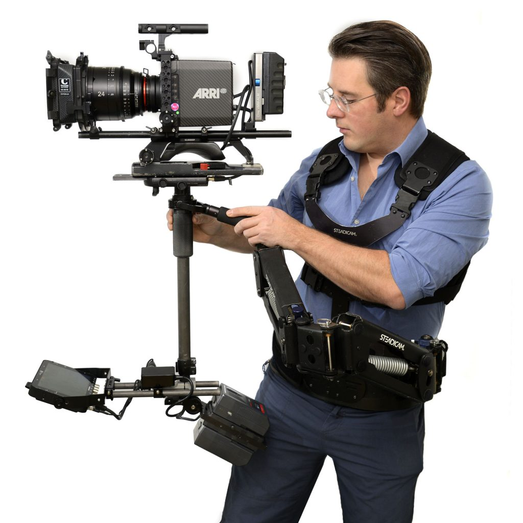 Arri Alexa Mini on Steadicam Flyer LE Xeen Lens