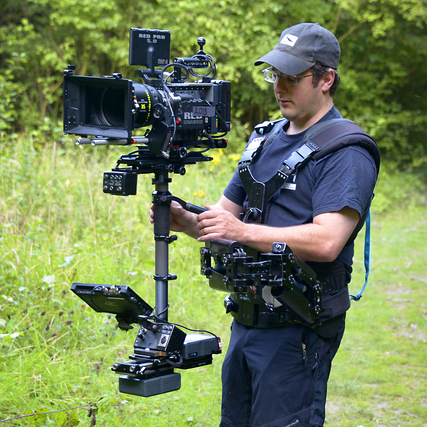 RED Epic on EFP Steadicam Operator John Fry