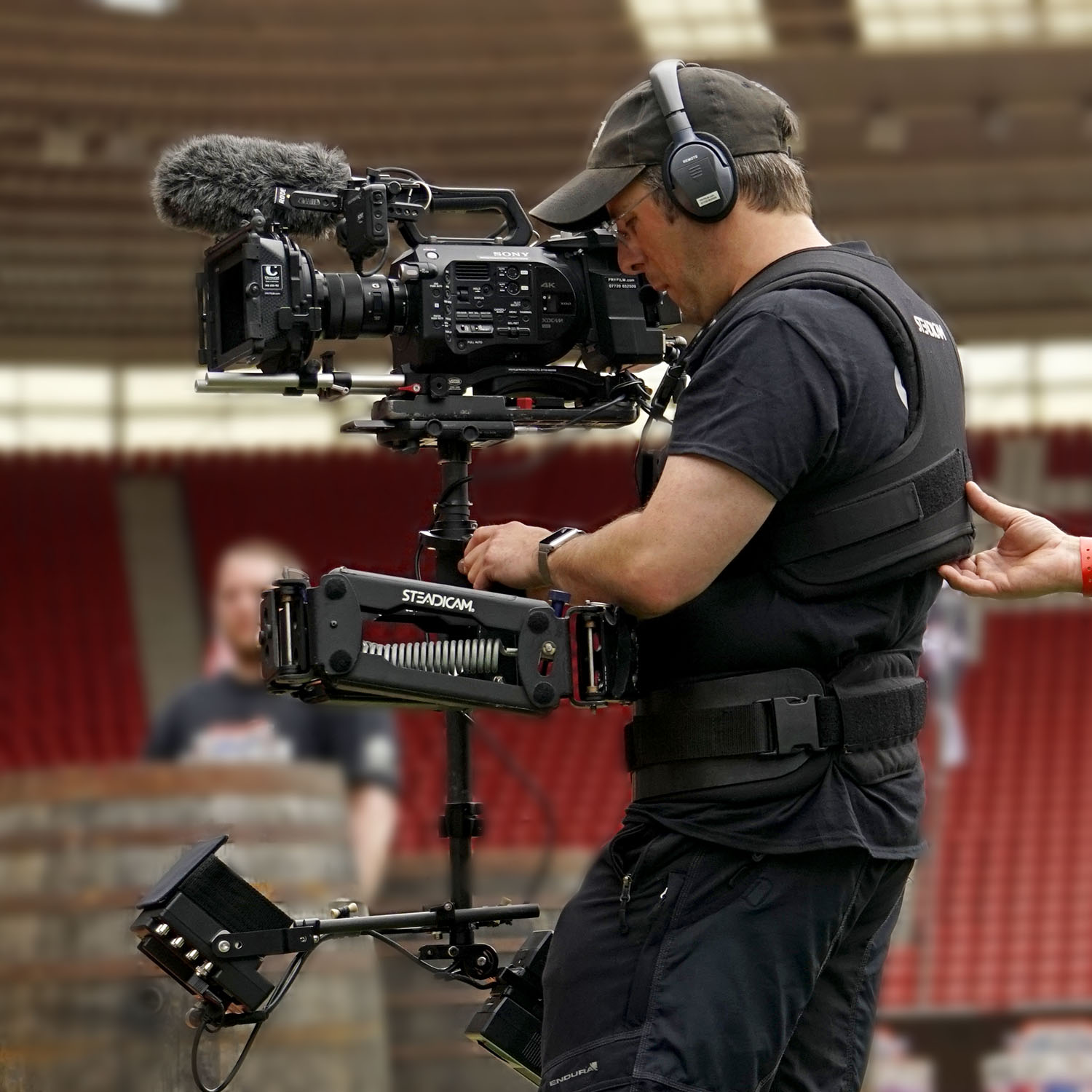 Strongman Team Steadicam FS7 John Fry