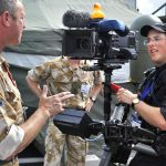 Farnborough Airshow Steadicam Operator Interview
