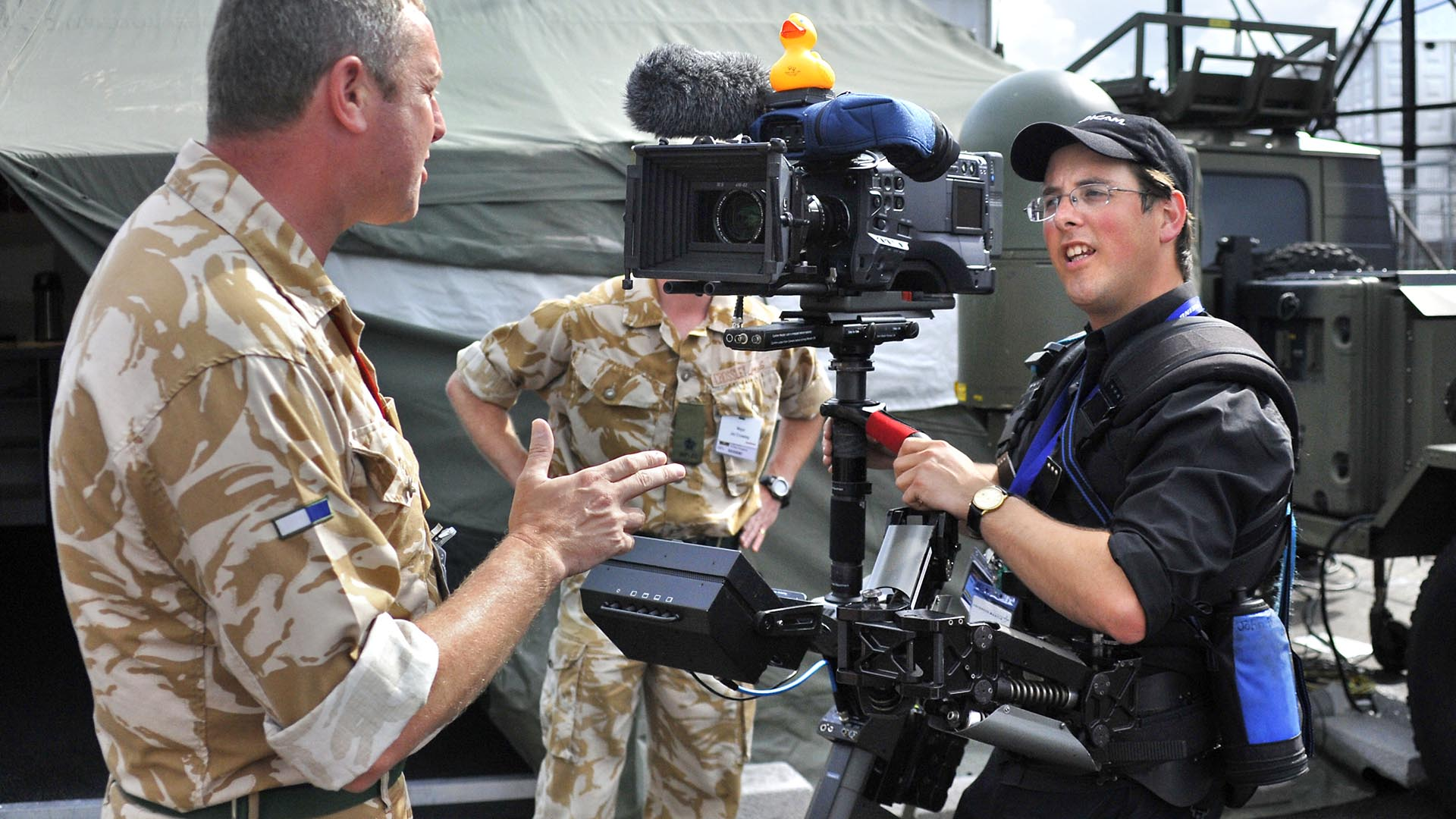 Farnborough Airshow Steadicam Interview
