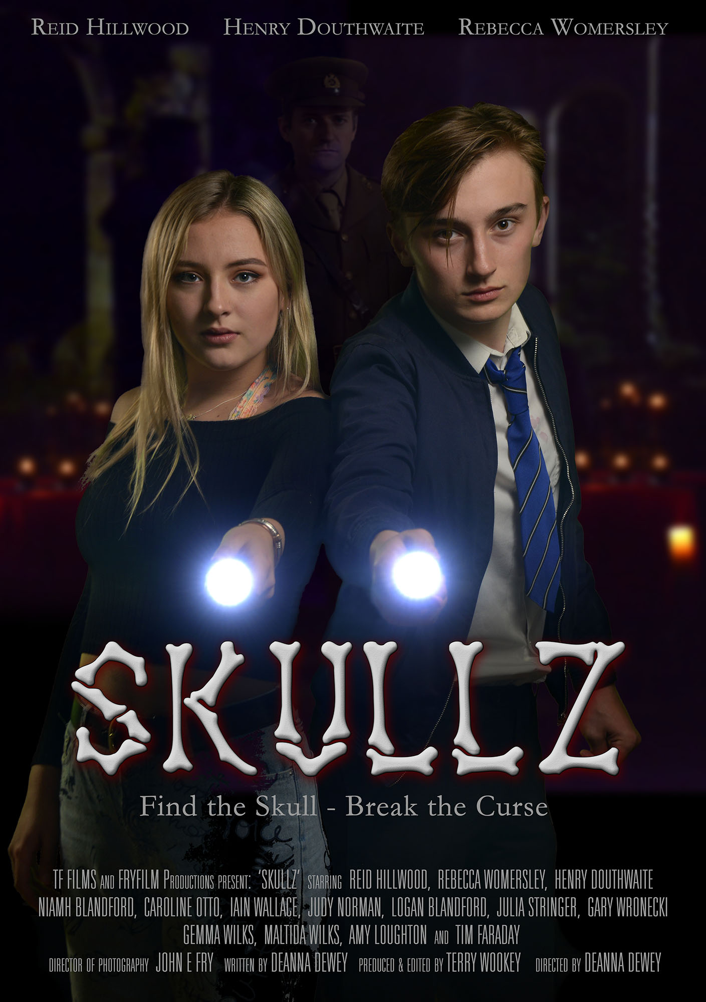 Skullz indie film poster UK