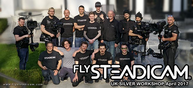 Tiffen Silver Steadicam Workshop UK 2017